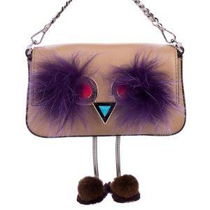 """Fendi """"Monster"""" Micro Hypnoteyes crossbody bag"""